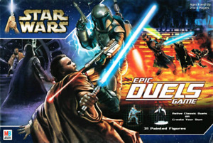 Star wars epic duels rare boardgame