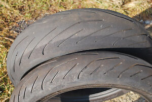 Used Michelin Pilot Power 3, 120, 160 & 180 x 17
