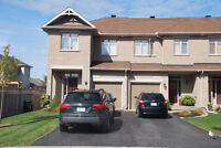 3+1BDR End Unit Town House  Avalon, Orleans, Nov 1st.