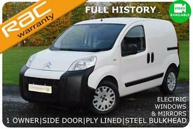 2013 Citroen Nemo HDi 660 LX FULL HISTORY|SIDE DOOR|1 OWNER