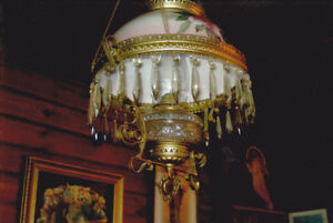 BUY ME :(   - antique chandelier - in original condition
