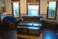 Central Halifax Locale - Living room converted to Bachelor