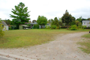 Services Building Lot in Cottage Country - Close to Beach!