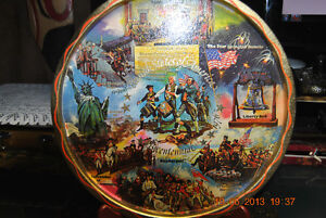 United States of America 1776-1976 Bicentennial tray