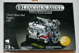 Lincoln Mint Smallblock Chevy Street Rod Engine 1:6 Scale