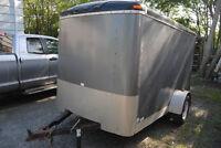 2003 Continental Cargo 6x10 enclosed cargo trailer
