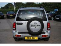 2001 SUZUKI GRAND VITARA 1.6 GV1600 3 DOOR SILVER PETROL MANUAL 92 BHP