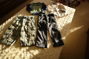 Baby Boy 4 Pce Mexx, Tommy Hilfiger Grouping Size 12-18-24 Mths