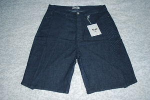 ACNE STUDIOS Welles Dark Indigo Shorts (NEW)