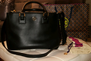 100% Authentic Tory Burch Robinson Double Zip tote