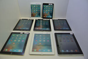 Apple iPads, Samsung Tablets, MS Surface RT/PRO, Tablets