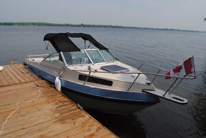 Grew 21' cuddy cabin with OMC engine and OMC Cobra stern drive.