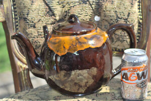 Pottery Teapot For Sale