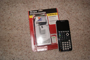 Texas Instrument T1-84 plus graphing calculator
