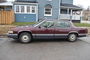 1991 Cadillac DeVille Chrome Sedan
