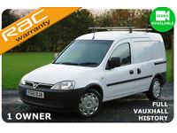 2011 Vauxhall Combo 1.3CDTi 16v ecoFLEX Air Con 1700 NO VAT-FULL HISTORY