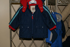 Baby Boy Gap Navy Winter Coat Size 6-12 Months
