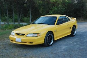 1998 Ford Mustang GT, certified.