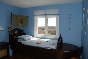 Child's Pirate of the Caribbean Bed with night table Peterborough Peterborough Area image 1