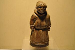 Vintage Stone Thorn Art Canada Figurine