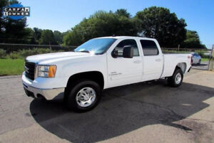 2009 GMC Sierra 2500 SLT 4x4 Diesel Crew Cab Leather Seats