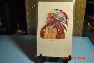 Vintage Postcard Chief Red Cloud Sioux Indian Native American Po