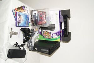 XBOX 360 4GB WITH KINECT - SLIM LATEST GENERATION + 22 GAMES