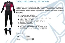 Job Lot of 5 new wetsuits