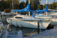 Kelt 7.6 Sailboat with New Yamaha 9.9 LS