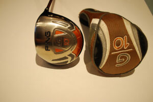 PING G10 Driver with head cover