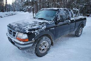 2000 Ford Ranger XLT Camionnette 4X4 manuelle