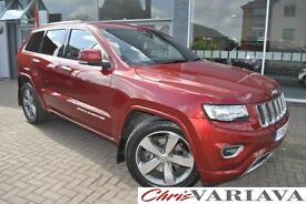 2013 Jeep Grand Cherokee 3.0 CRD Overland 5dr Auto TOWBAR Diesel red Automatic