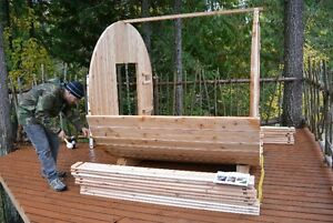 BARREL SAUNAS!! Seats 6 People, Easy to Assemble, Free Delivery North Shore Greater Vancouver Area image 5