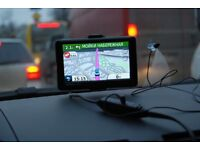 5 inch Garmin Nuvi 1410 widescreen Satnav with Blue Tooth