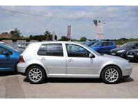 2001 VOLKSWAGEN GOLF GTI 1.8 TURBO 5 DOOR SILVER 148 BHP