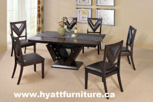 Brand new 7pcs Solid Wood  Dinette $798 - We deliver in GTA