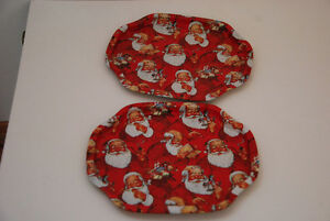 Three Santa Claus Tin Trays Edmonton Edmonton Area image 4
