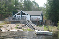 French River Boat Access Cottage