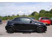 2012 61 MINI COUPE 1.6 JOHN COOPER WORKS 2 DOOR BLACK PETROL MANUAL 208 BHP