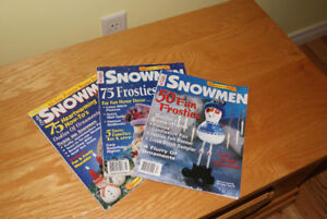 Snowman Magazine Collectors Edition (3 of them)