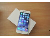 Iphone 6 Gold 128GB Unlocked Boxed Good Condition