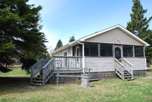 3 Bedroom Cottage on appx. 2 acres Cape Tormentine