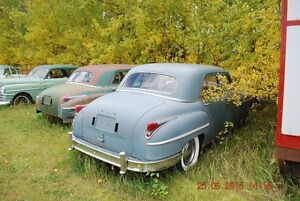 2 1949 Chrysler sedans
