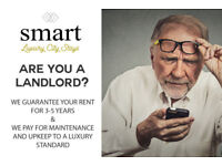 Are You a Landlord? Tired of Tenant Issues and Void Periods? We Guarantee the Rent and Maintenance!