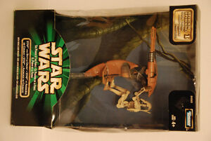 STAR WARS EPISODE I ~ STAP AND BATTLE DROID with FIRING LASER