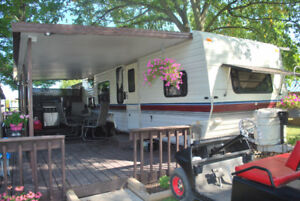 Travel trailer in great shape for sale