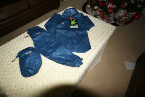 NEW TOGZ One Piece Windsuit in Navy with Red Trim Size 3 Years
