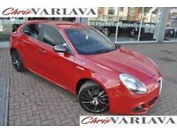 2014 Alfa Romeo Giulietta JTDM-2 QV LINE TCT Diesel red Semi Auto