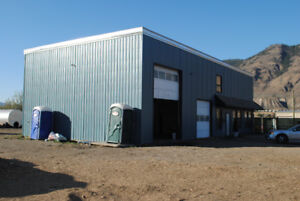 Office/Shop Zoned I2 for Lease with Option of Acreage