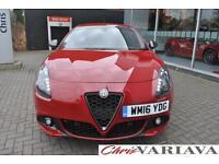 2016 Alfa Romeo Giulietta 2.0 JTDM-2 175 Speciale 5dr TCT Diesel red Automatic